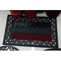 Quality Eco Friendly Rubber Door Mat Skidproof Monogrammed Door Mats for sale