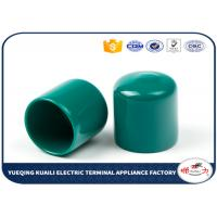 China Protective Flexible PVC Vinyl Wire End Caps Round Steel Bar Cap For Pipe on sale