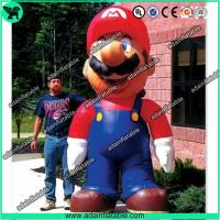 Quality 5m Inflatable Mario,Inflatable Mario Cartoon,Giant Inflatable Mario for sale
