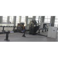 Quality CNC Angle Marking, Punching and Cutting Line APL0407B for sale