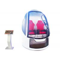 Quality Space Capsule Egg Chair 9D Vr Simulator  Cinema Interactive Game for sale