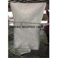 Quality Water Penetrating PP Fabric Ventilated Bulk Bags For One Ton Package for sale