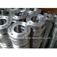 Buy cheap 316L Steel Pipe Fittings / Stainless Steel Pipe Flange High Pressure Forged from wholesalers
