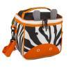 Polyester Outdoor Kids Cooler Bag Small , Folding Cooler Bag With Shoulder Strap