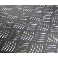 Quality Small 5 Bar Aluminum Tread Plate AA1100/3003/3105/5052 Standard Export Packing for sale