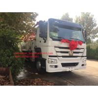 Quality 8 X 4 Truck Mounted Concrete Pump Truck Machine SINOTRUK HOWO Low Consumption for sale