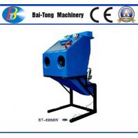 Buy Dustless Reinforced Wet Sandblasting Cabinet Feed Abrasive 4 - 6kg For at wholesale prices