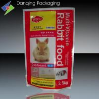 Quality Stand Up Zipper Pet Food Packaging Pouches Excellent Clarity And Rigidity for sale