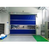 Quality External High Speed Industrial Shutter Door Colorful PVC Curtain For Workshop for sale