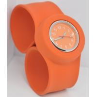 Quality 2012 hot sale animal shaped silicone slap band watch for sale