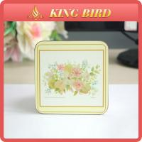 China Home Craft New Style Art Craft Wood Cork Coaster For Dinner Table Decoration on sale