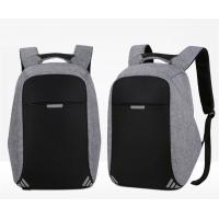 Quality USB Charging Laptop Bag B Level 15 inches Backpack Reflective Stripe Anti theft Bags Outdoor Waterproof Backpack for sale