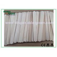 Quality Surgical / Medical Hospital Disposable Products Wooden Tongue Depressor , 15*1.8cm for sale