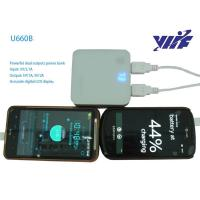 Powerful 6600~8400mah universal external portable charger for iphone4/4s/5, samsung galaxy s2/s3/not