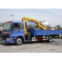 Buy Durable Knuckle Boom Truck Mounted Crane, Wire Rope Raise And Down 3200 kg at wholesale prices