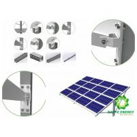 Quality Exclusive Anodized Ground PV Mounting Brackets Ground Solar Mounting Structure for sale