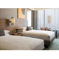 Quality Contemporary Bedroom Furniture Double Twin Size , Durable Commercial Hotel Furniture for sale