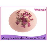 China Rose Fragrance Natural Bath Bombs Whitening Essential Oil Bath Salt Ball on sale