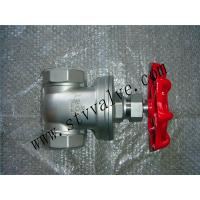 Buy cheap 304/316 bsp, stainless steel gate valve/thread gate valve from Wholesalers