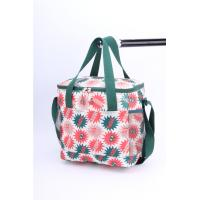 Buy cheap Ladies Wine Polyester Cooler Bag Folding Insulation Lining Heat Transfer Printing from Wholesalers