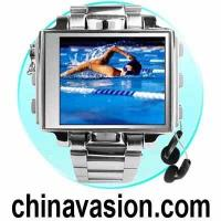 China Steel MP4 Watch - 1.8 Inch Screen MP4 Player Watch on sale