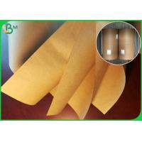 Quality 50GSM Greaseproof Food Grade Brown Kraft Paper For Making Popcorn Chicken Cup for sale