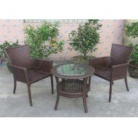 China Small Balcony Furniture Garden Furniture Wicker Rattan Outdoor Sets on sale