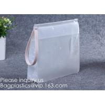 China Vinyl Document Newspaper File Pen Zipper Bags,Coin Bag Pvc Slider Zipper Waterproof Pouch Bag, Ecofriendly Non-toxic for sale