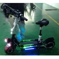 Quality Portable 11 Inch Folding Motorized Scooter , Electric Folding Scooter For Adults for sale