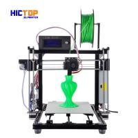 Buy cheap Silver DIY 3D Printers Prusa I3 with DIY Kits , filament monitoring function from Wholesalers