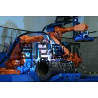 Quality Pipe Prefabrication Robot Welding Machine With ABB / OTC Robot Body for sale