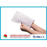 Quality Soft Wet Wash Glove For Patients for sale