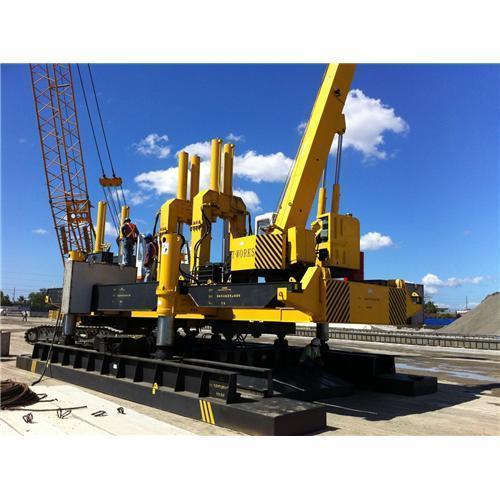 Hydraulic Piling Machine Square Pile Concrete Spun Pile