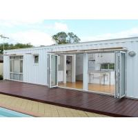 Quality White Modified Shipping Containers Temporary Container Housing / Custom Shipping Containers for sale