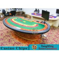 Quality Multi-functional Macau Galaxy Luxury Poker Table With Three Printed Table Cloths for sale