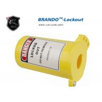 China BO-PM31 Plastic Safety Lock Out Gas Cylinder Type 89 mm Shackle Diameter ,  Available PP Gas Cylinder Pneumatic Lock Out on sale