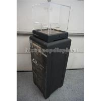 Black Sunglasses Display Case Freestanding Acrylic Top Sunglass Display Cabinet