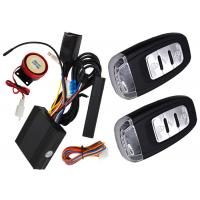 Quality Passive Auto Keyless Entry Motorcycle Alarm System With Shock Sensor Alarm Trigger for sale