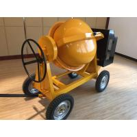 Diesel Powered Concrete Mixer  4 wheel Manual Tipping with 500 Liters Drum