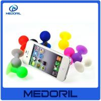 Quality Eco friendly silicone material mobile cell phone stand holder with suction for sale
