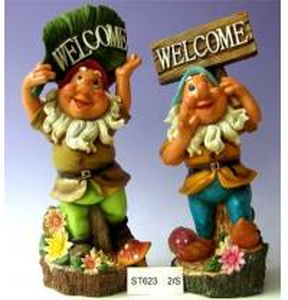 China Polyresin Dwarf, Eidolon, Gnome Statue on sale