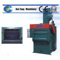 Quality Tumble Rubber Belt Steel Shot Blasting Machine Safe Operation For Casting Metal Parts for sale