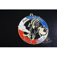 Quality Pegasus Marathon 5K 10k Mini Custom Metal Racing Medals Bespoke Design for sale