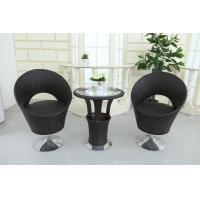 Outdoor  Coffee table chairs with Revolving Base