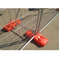 Quality 2.1m*2.4m Hot dipped galvanized temporary fence for sale 42 microns hdg construction commerical protection fence for sale