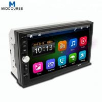 China Universal 7 Inch 2 Din double din Touch Screen Bluetooth Car Stereo screen mp5 DVD player on sale