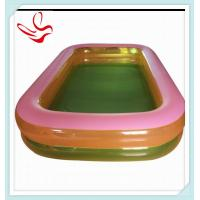 2 ring large inflatable family swimming pools square clear Square swimming pools for sale