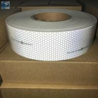 Quality Sew On SOLAS Reflective Tape , Lifejackets Retro White Marine Tape IMO MED Approvals for sale