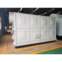 Quality Horizontal Peanut Shell Briquetting Boiler / Sawdust Fired Steam Boiler for sale