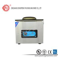 Quality Automatic Food Packing Machine Electric Driven Double Sealing Bar Vacuum Sealing Machines DZ-400B for sale